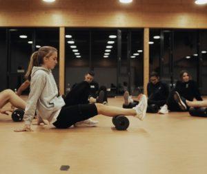 Aerobic Unterricht